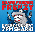 Shark feeding, Tuesdays at 7pm shark